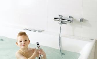 Nya Oras Eterna termostatblandare - Miljövänlig, smart och säker