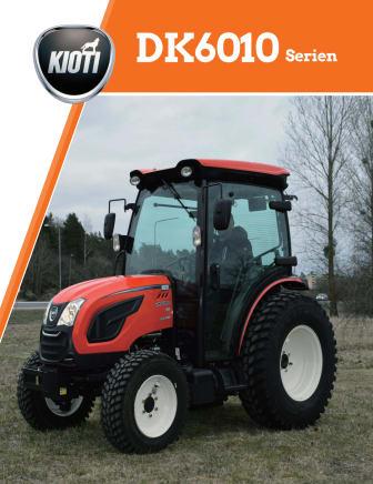 Kioti DK6010 broschyr