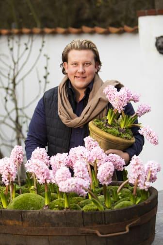 Karl Fredrik på Eklaholm vtycker om svenskodlade hyacinter
