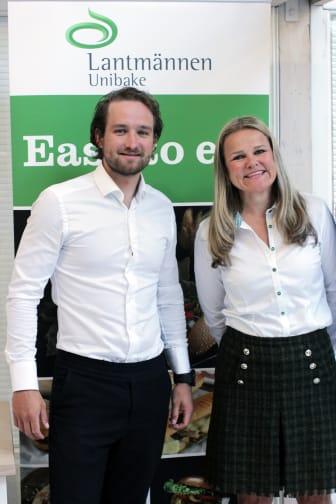 Håkon Skog Erlandsen og Aina Hagen Unibakedagen 2019