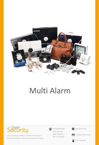 Multi-alarm från Gate Security