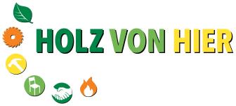 """Logo """"HOLZ VON HIER"""""""