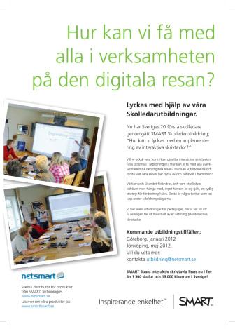 SMART Board i monter H:05:20 på Nordiska Skolledarekongressen i Göteborg