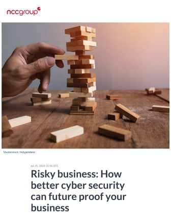 Risky business: How better cyber security can future proof your business