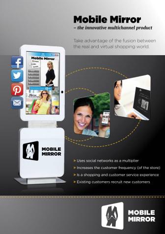 Digital skyltning från Gate Security - Mobile Mirror