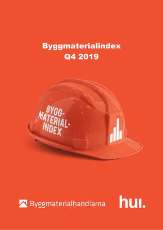 Positivt 2019 trots negativt fjärde kvartal för byggmaterialhandeln