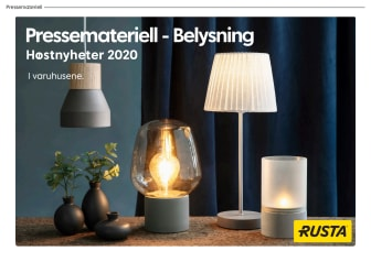 Pressemateriell Belysning - Høst 2020