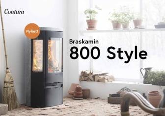 Nyhetsbroschyr Contura 800 Style
