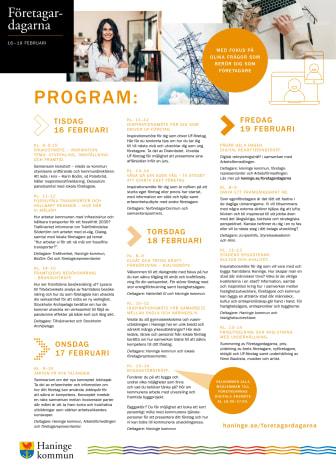 Företagardagarna 2021 - Hela programmet