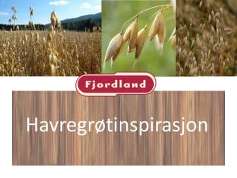 Ny sunn trendgrøt fra Fjordland