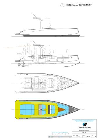 Pixii SP 750 - General arrangement