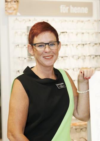 Helene Hjertberg, Glasögonstylist och leg. optiker
