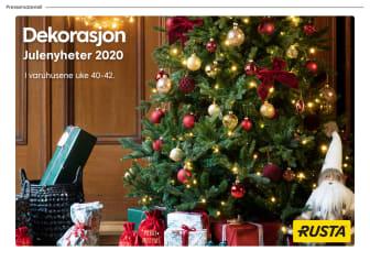 Pressemateriell dekorasjon - Julen 2020