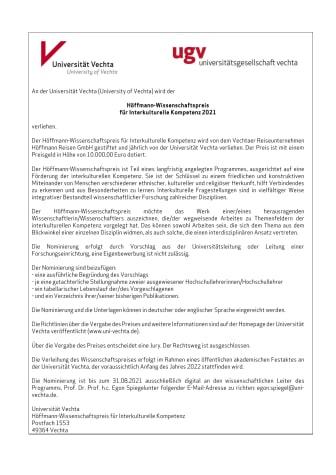 2021 Ausschreibung Höffmann-Wissenschaftspreis_deutsch