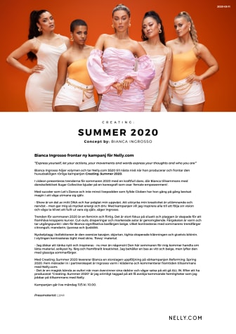 Creating: Summer 2020 - Concept by Bianca Ingrosso