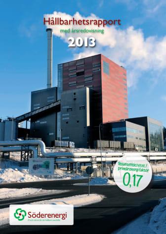 Söderenergi Hållbarhetsrapport 2013