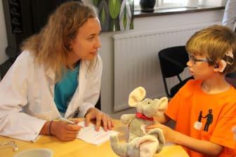Nallesjukhuset på Barnplantornas sommarläger 2013