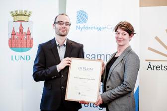 Årets nyföretagare i Lund 2013