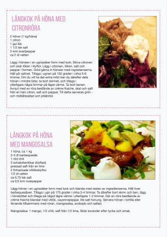 Recept långkok höna