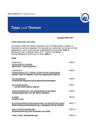 Tipps und Themen 3-2017