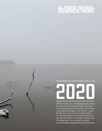 Året 2020 med Alfred Nobel Science park