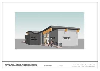 Investerer i nytt flerbrukshus ved Trysilfjellet Golf AS