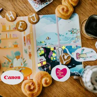 Canon sponsrar Snällkalendern