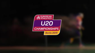 European Athletics U20 Championships Borås 2019