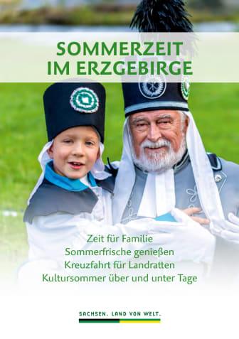 Angebotsbroschüre Sommerzeit im Erzgebirge 2019