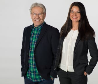 Åsa Elmroth och Lennart Forsgren