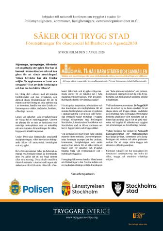Program Säker och trygg stad
