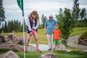 Golf for hele familien