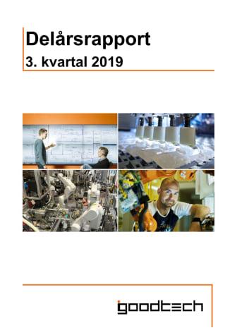 Kvartalsrapport Q3 2019