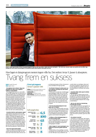 Aftenposten økonomimagasinet: Presset seg til suksess