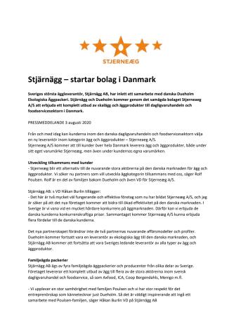 Stjärnägg – startar bolag i Danmark