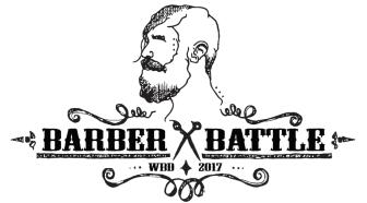 Swedish Barber Expo Barber Battle 2017 - logo designad av Loiz Blomberg