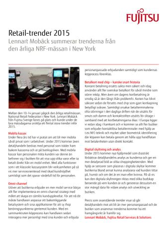 Trendspaning med Lennart Mobäck
