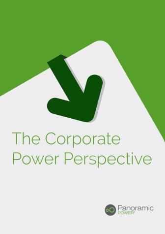 Panoramic Studie zum Energiemanagement bei Unternehmen