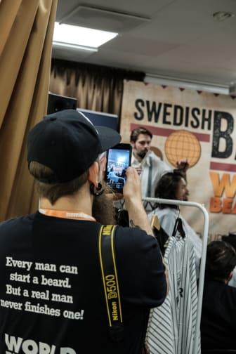 Andreas Fransson, social media manager för World Beard Day