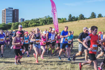 Runners of all abilities took part in this year's Angel View Run.