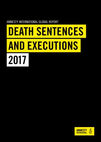 Världen: Dödsstraffet under 2017