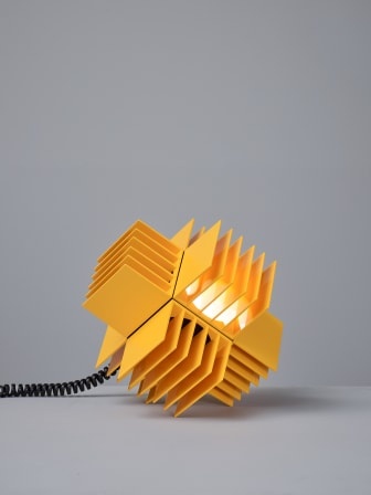 ÅretsInredningsföremål_Bärbara ljud- och ljussystemet Frekvens av Teenage Engineering för Ikea