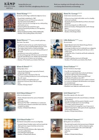 Fakta Kämp Collection Hotels