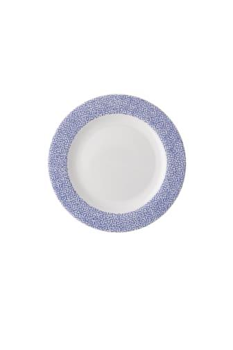 R_Moon_Cipango_Blue_Rim_plate_18_cm