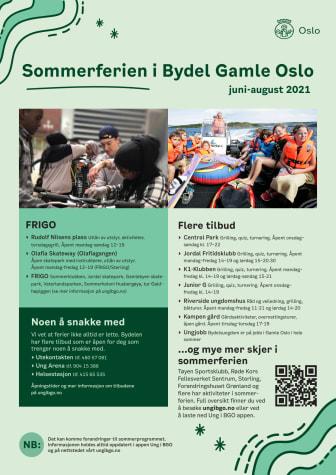 Sommerferien i Bydel Gamle Oslo - plakat pdf
