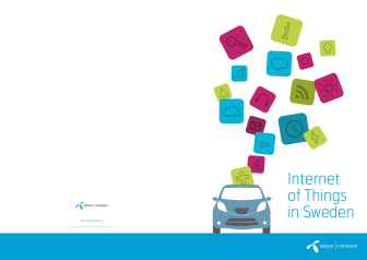 Report Internet of Things in Sweden (in English)
