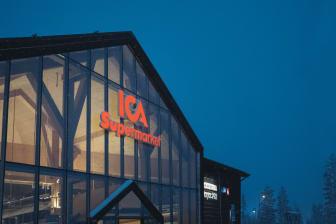 Entrén, ICA Supermarket, Lindvallen