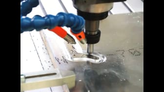 Processing of aluminium with a Flatcom XL