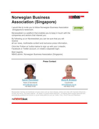Norwegian Business Association (Singapore)