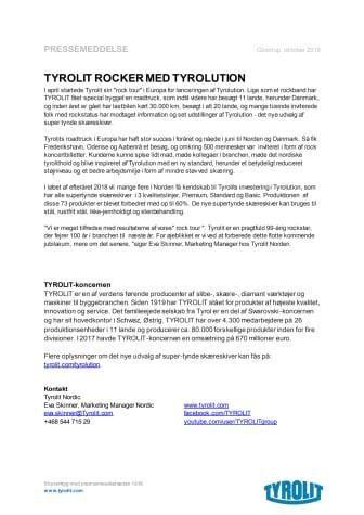 TYROLIT ROCKER MED TYROLUTION